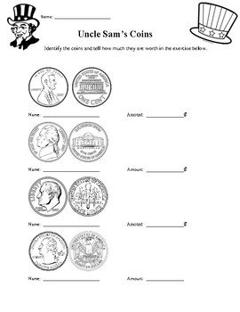 Uncle Sam's Coin Identification