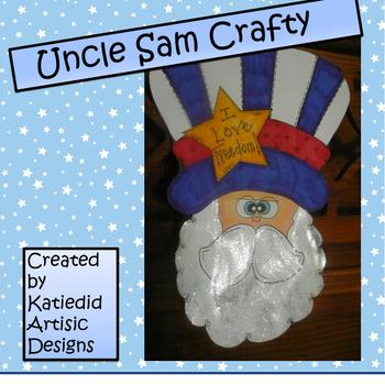 Patriotic Uncle Sam's Crafty