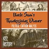 Uncle Sam's Thanksgiving Dinner Political Cartoon Analysis