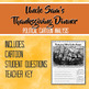 Uncle Sam's Thanksgiving Dinner Political Cartoon Analysis