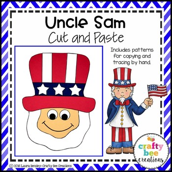 Uncle Sam Cut and Paste