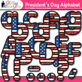 President's Day Alphabet Clip Art: Patriotic Graphics {Glitter Meets Glue}