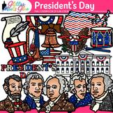 President's Day Clip Art: Social Studies Graphics {Glitter Meets Glue}