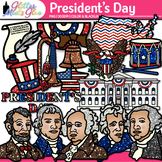 President's Day Clip Art {Declaration of Independence, Uni