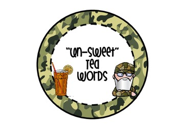 Uncle Si's Sweet and Un-sweet Words