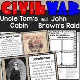 Uncle Tom's Cabin and John Brown's Raid Lesson and Doodle Notes SS4H5a