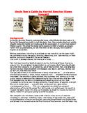Uncle Tom's Cabin by Harriet Beecher Stowe (exerpt) worksheet