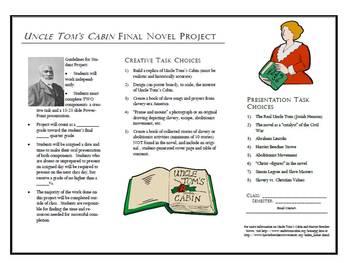 Uncle Tom's Cabin Novel Project