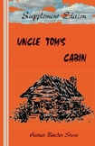 Uncle Tom's Cabin, with Supplement, by Harriet Beecher Stowe