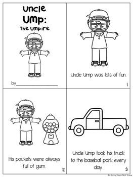 Uncle Ump {short u activity pack!}