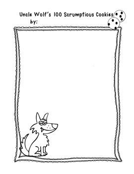 100th Day of School-Math and Language Craftiviity Mr Wolf's Chicken Stew CCA