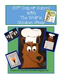 100th Day of School-Math and Language Craftiviity Mr Wolf'