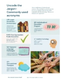 Uncode the Jargon FREE infographic