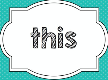 Uncode the Sight Words: SmartBoard Activity