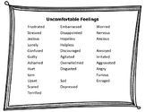 """Uncomfortable Feelings - """"Post-It Note Counseling"""""""