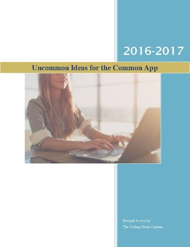Uncommon Ideas for Common App