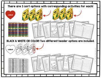 Uncommon Long Vowel Pattern Word Sort Bundle