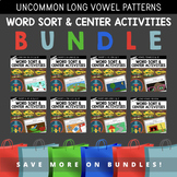 Uncommon Long Vowel Pattern Word Sort Bundle