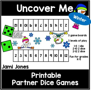 Uncover Me- A Winter Partner Dice Game