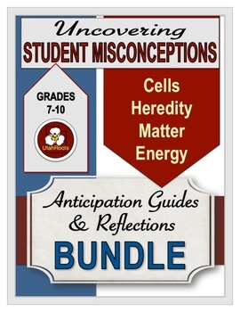 Uncovering Student Misconceptions in Science (BUNDLE)