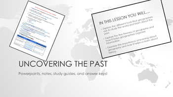 Uncovering the Past Notes and Powerpoint Bundle