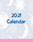 Undated Astrology Calendar Freebie