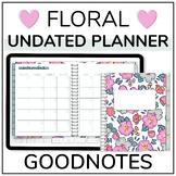 Undated Digital GoodNotes Teacher Planner with 130+ Digita