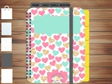Undated Digital Planner with 120 linked pages