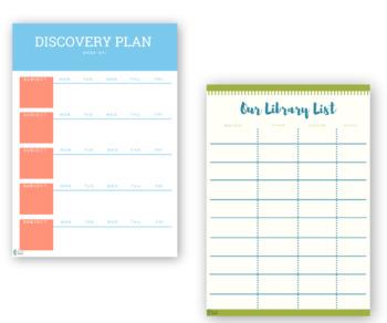 Undated Teacher Planner | Daily, Weekly, Monthly Homeschool Planner