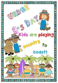 Under 8's Day Poster Set