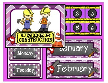 Under Construction / Calendar (purple)