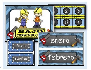 Under Construction / Calendario (azul)