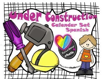 Calendario Rainbow.Under Construction Calendario Morado