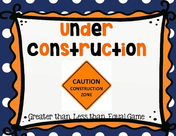 Under Construction: Comparing Numbers, 2-digit numbers, place value