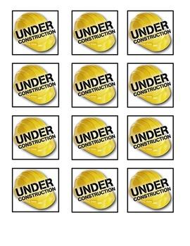 Under Construction Folder