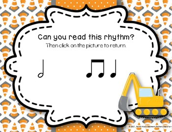 Under Construction! Interactive Rhythm Practice Game - Ta-a