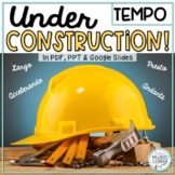 Under Construction! Interactive TEMPO Definitions Review Game