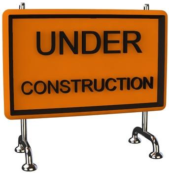 Under Construction Sign Clip Art