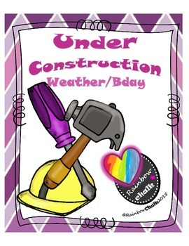Under Construction / Weather & Bday (purple)