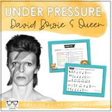 Under Pressure {Instrument Play-Along}