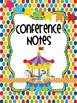 Under The Big Top Teacher Totebook Binder