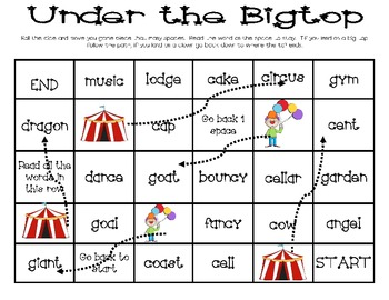Under The Big Top with Hard and Soft Sounds