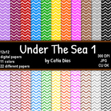 Under The Sea 1 - 22 Digital Papers