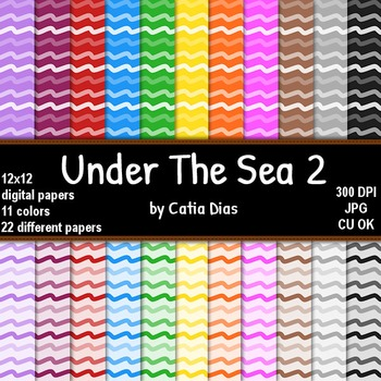 Under The Sea 2 - 22 Digital Papers