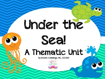 Under The Sea: A Thematic Unit