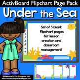Under The Sea ActivBoard Flipchart Page Pack