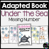 Under The Sea Adapted Book (Missing Numbers 1-10)