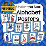 Under The Sea Alphabet Posters