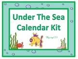 Under The Sea Calendar Kit