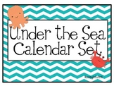 Under The Sea Calendar Set